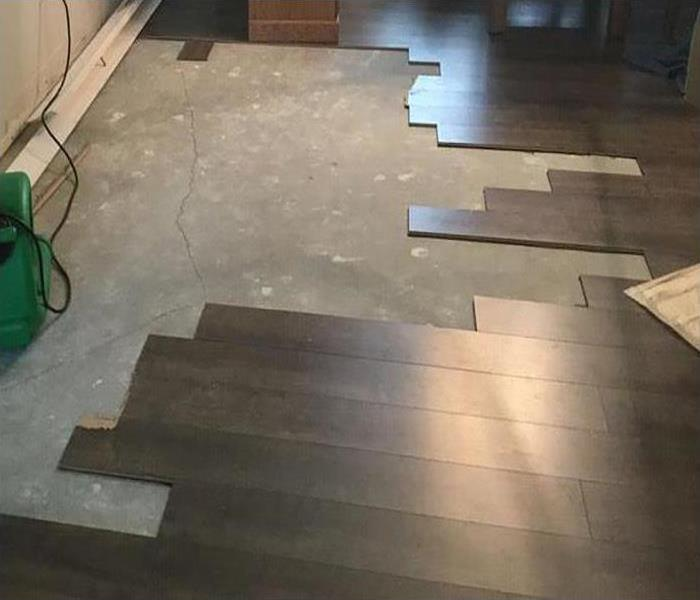 restoring wood flooring after a flood